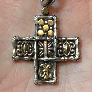 John Hardy Cross Pendant